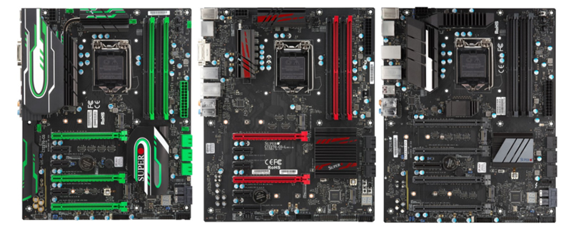 Supermicro's 200-series motherboards have been pictured