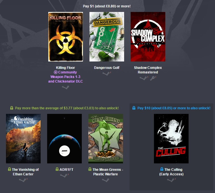 The Humble Unreal Engine Bundle is now live