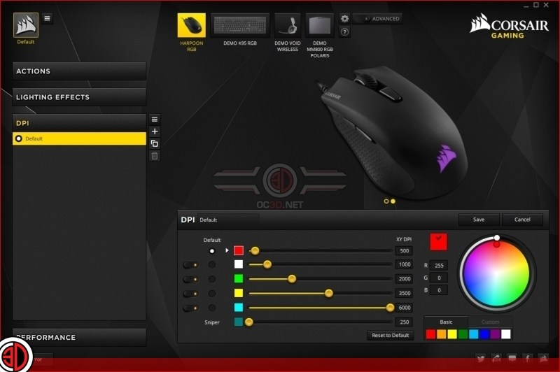 Corsair Harpoon RGB Gaming Mouse Review