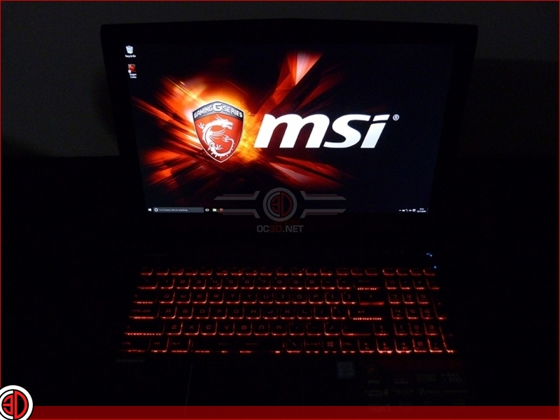MSI GE62VR Apache Pro Gaming Laptop Review