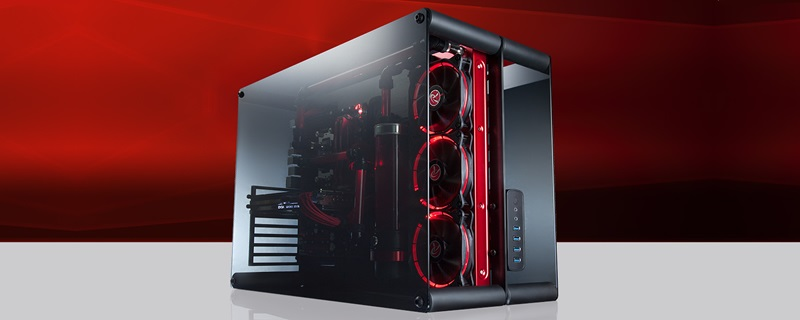 Raijintek releases their new Paean Tempered glass dual chambered chassis