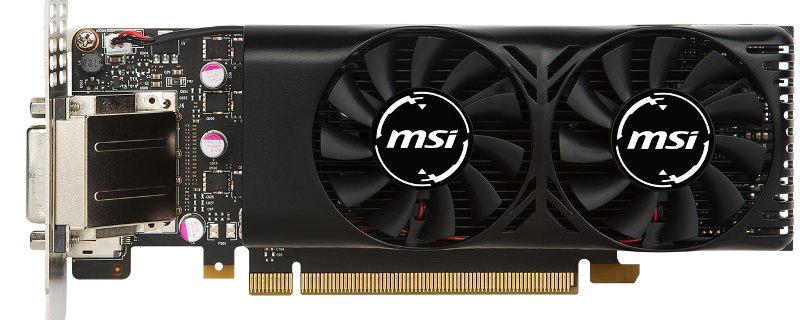 MSI reveals a low-profile GTX 1050Ti GPU