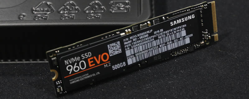 Samsung NVMe 960 M.2 Evo 500GB Review