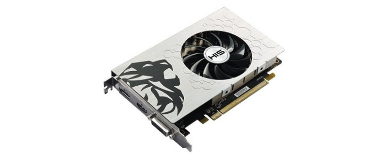 HIS to release a single-slot RX 460 with 4GB of VRAM