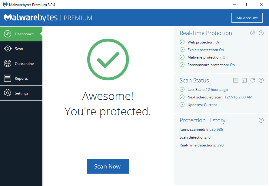 Malwarebytes 3.0 offers new Anti-Exploit/Ransomware protection with 4x faster scanning