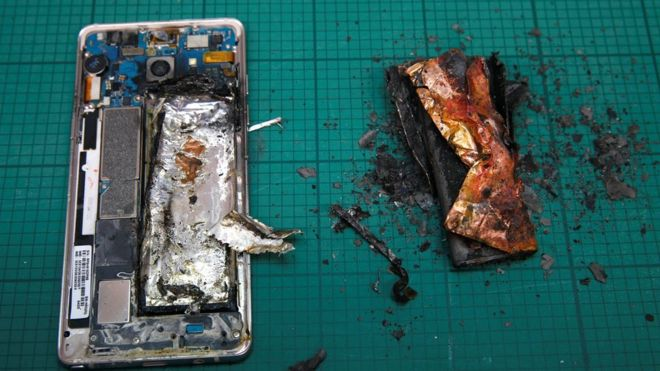 Samsung reduces Galaxy Note 7 Battery capacity as consumers refuse to return their devices