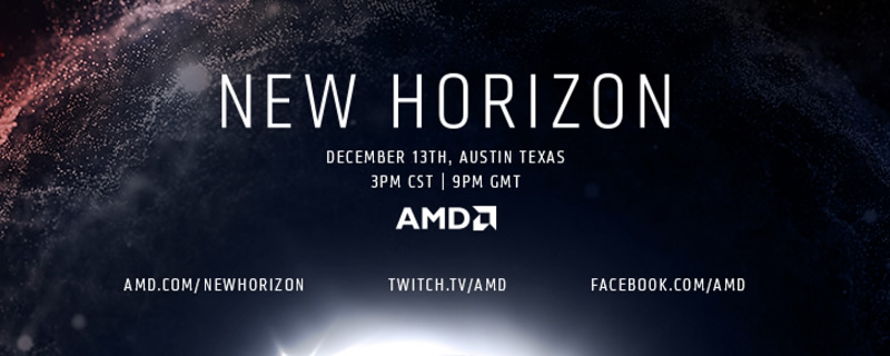 Watch AMD's New Horizon Livestream here