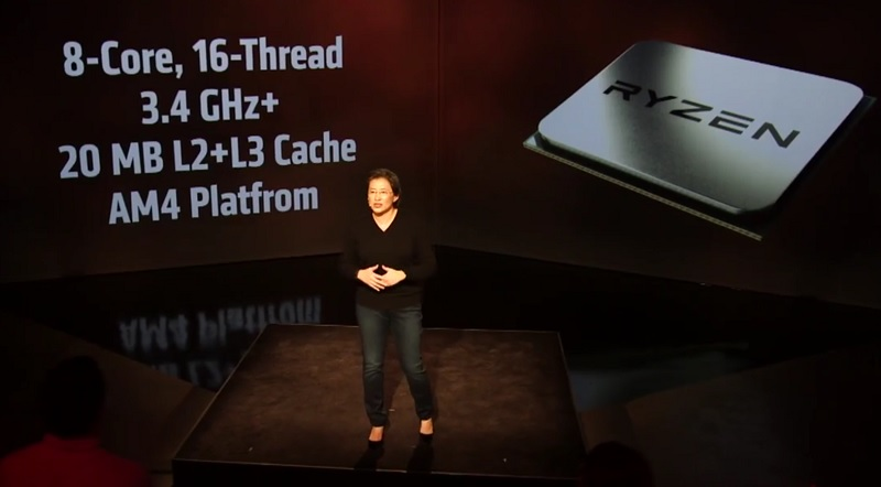 AMD officially announces their new Ryzen CPU