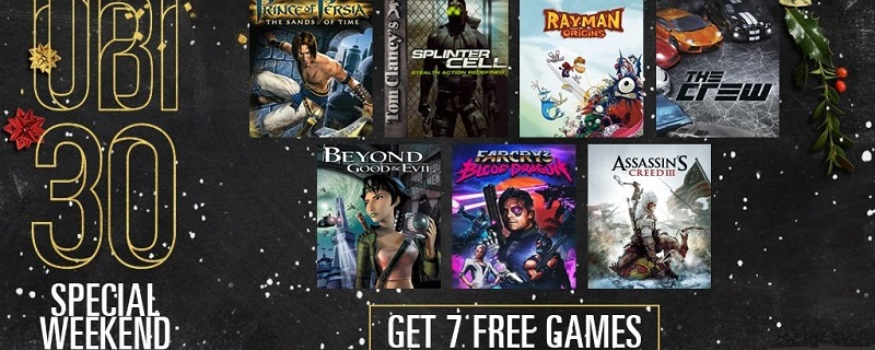 All seven UBI 30 titles are free for a limited time