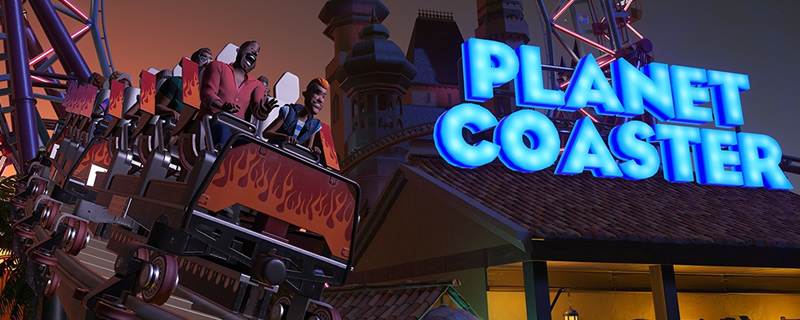 Planet Coaster Free Winter Update and performance patch