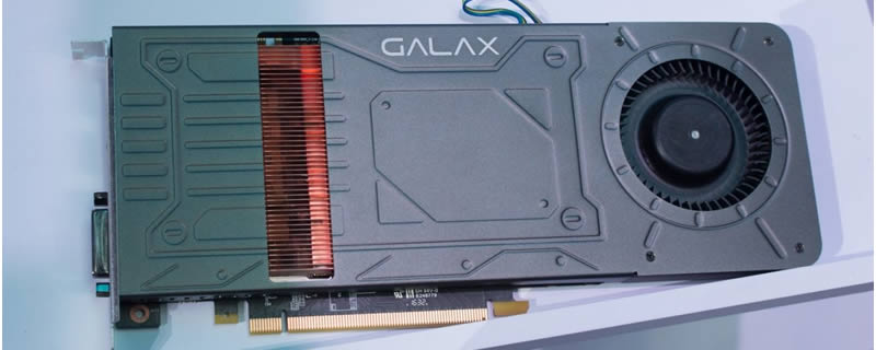 Galax create a single slot GTX 1070 GPU