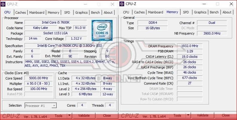 Intel Kaby Lake i5-7600K and i7-7700K Review