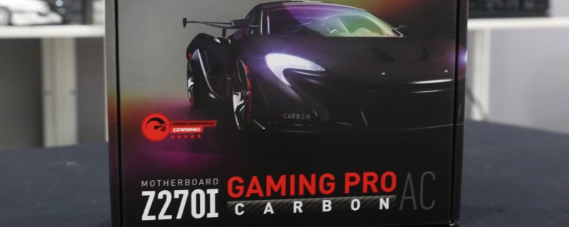 MSI Z270I Gaming Pro Carbon AC Preview