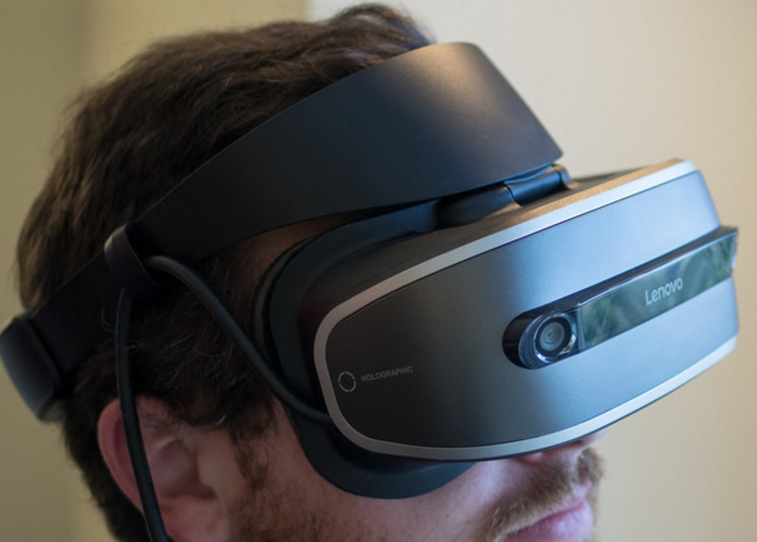 Lenovo reveal VR headset prototype with 1440x1440 resolution per eye