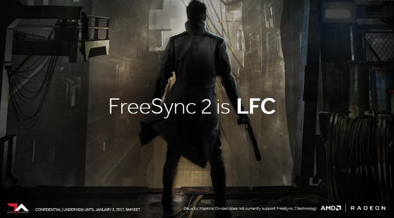 AMD officially announce FreeSync 2