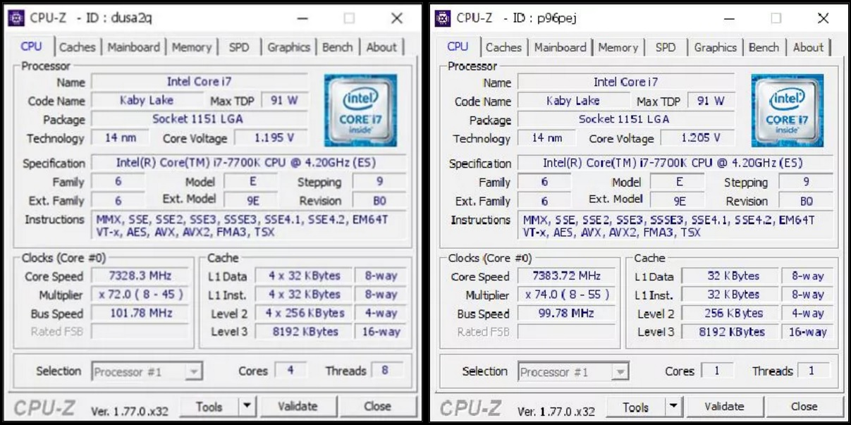 ASUS achieve world record Intel CPU overclock of 7.383GHz