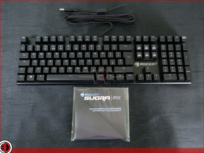 Roccat Suora FX Frameless Keyboard Review