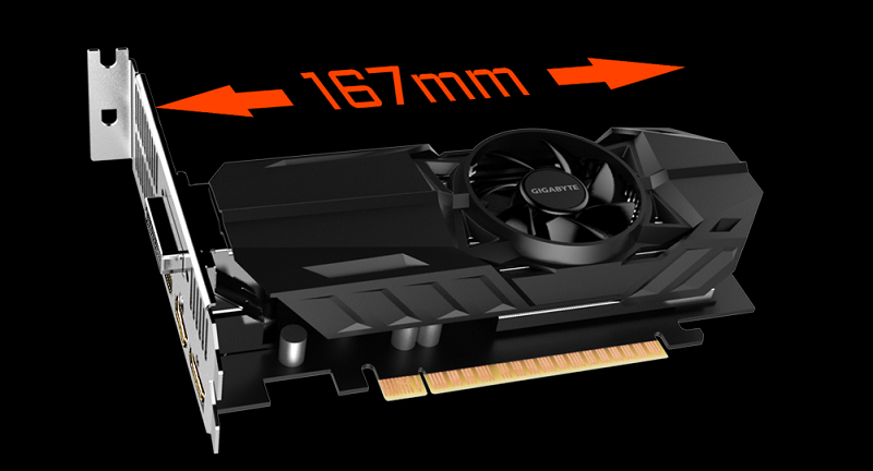 Gigabyte reveal low profile GTX 1050 and 1050Ti GPUs
