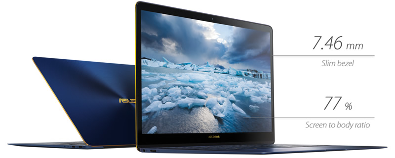 ASUS announce their Zenbook 3 Deluxe UX490 laptop