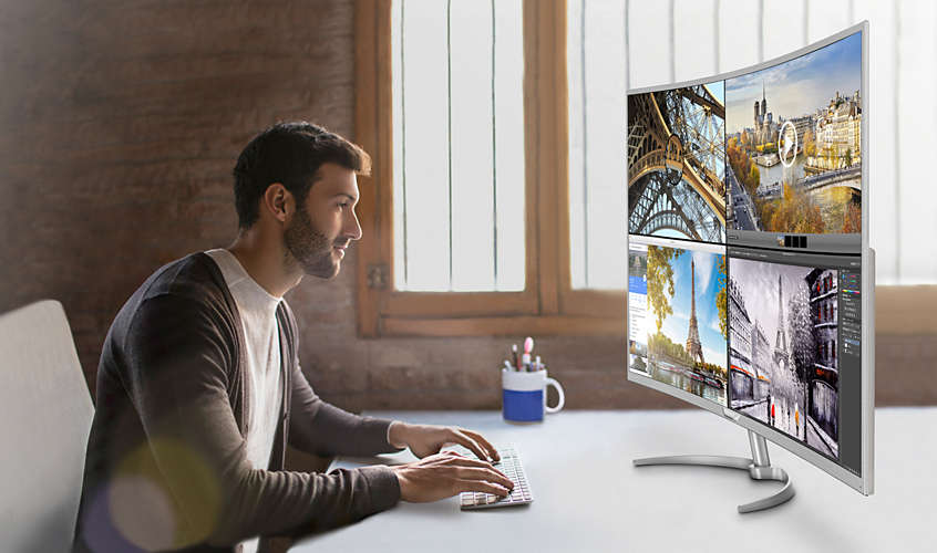 Philips release their BDM4037UW 40-inch 4K curved monitor