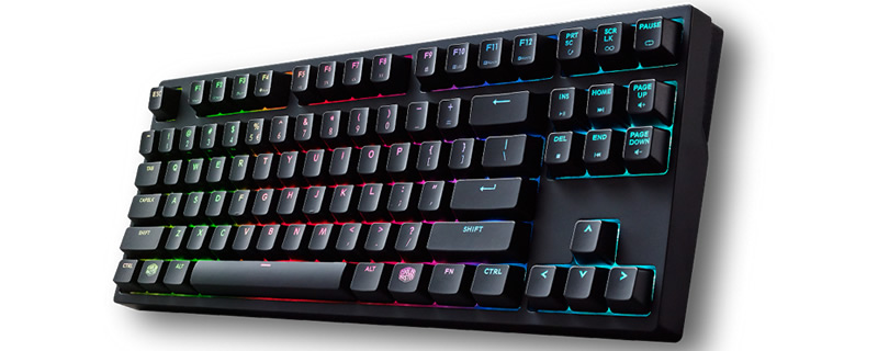 Cooler Master will release MasterKey S keyboards with Cherry MX speed switches