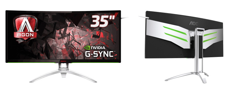AOC announces their AG352UCG 3440x1440 100Hz G-Sync monitor