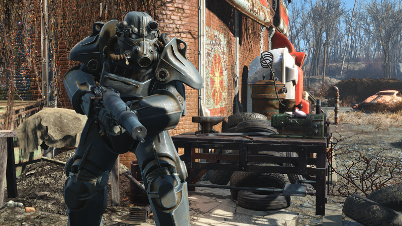 Bethesda will release a Fallout 4 high resolution texture pack next week