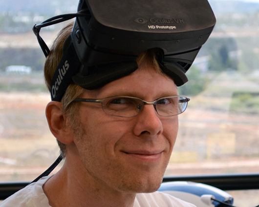 John Carmack denies claims that he tried to