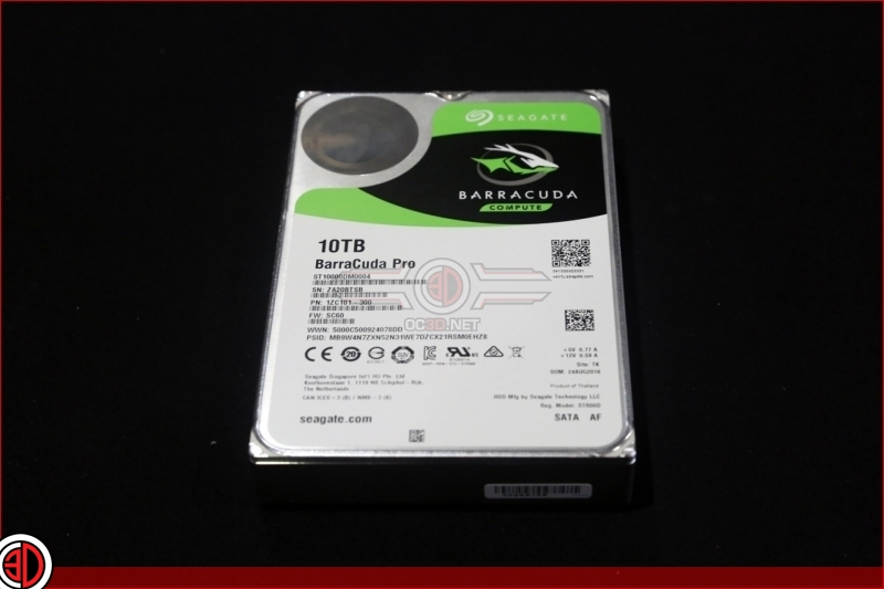 Seagate Barracuda Compute Pro 10TB HDD Review