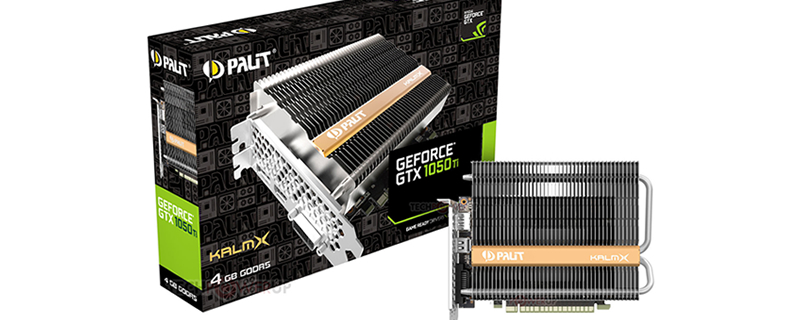 Palit announces their new passively cooled GTX 1050 Ti KalmX GPU