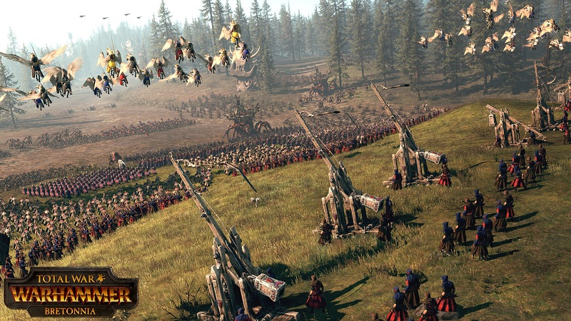 Bretonnia will become a playable faction in Total War: Warhammer later this month