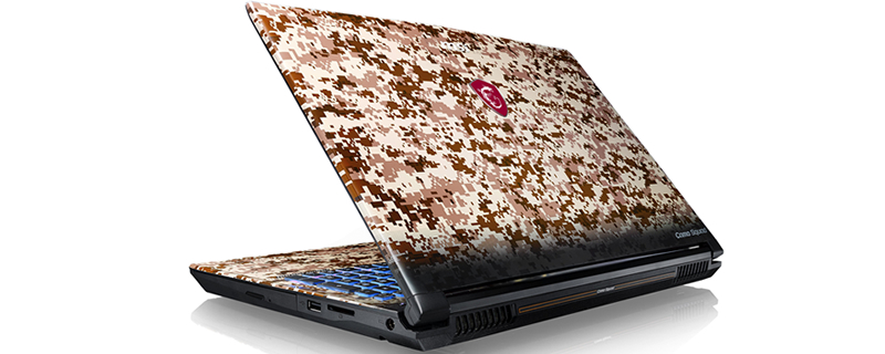 MSI announce their GE62 Camo Squad series of notebooks