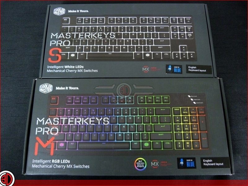 Cooler Master Masterkeys Pro M and Pro S Review
