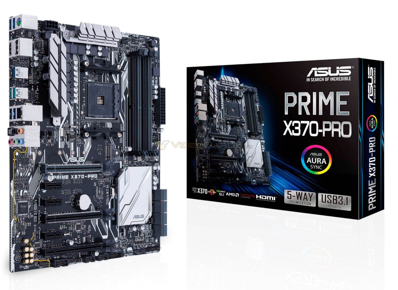 First images of X370 motherboard packaging appear