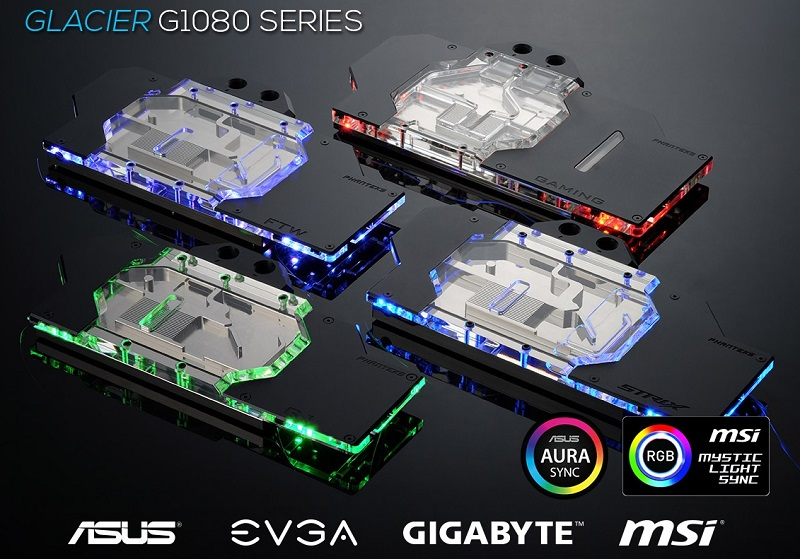 Phanteks release their Glacier series of CPU and GPU liquid coolers