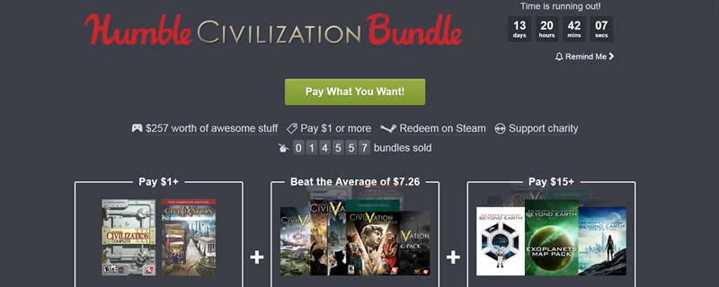 The Humbler Civilization Bundle is now live