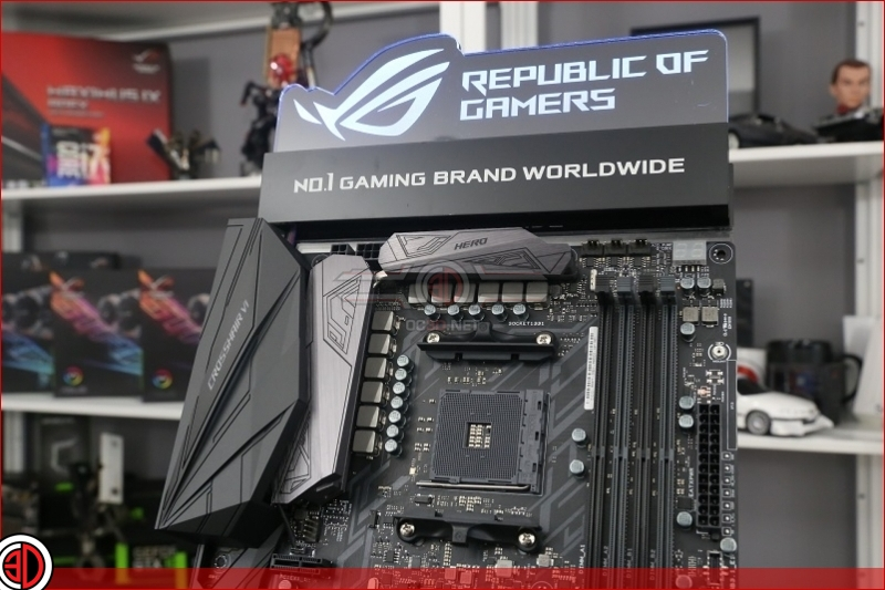 AMD Ryzen ROG AM4 Corsshair VI Hero - RushKit