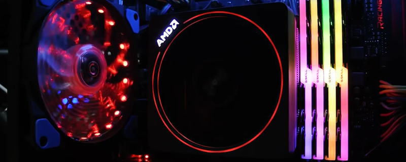 YouTuber showcases AMD Ryzen RGB compatible Wraith max cooler