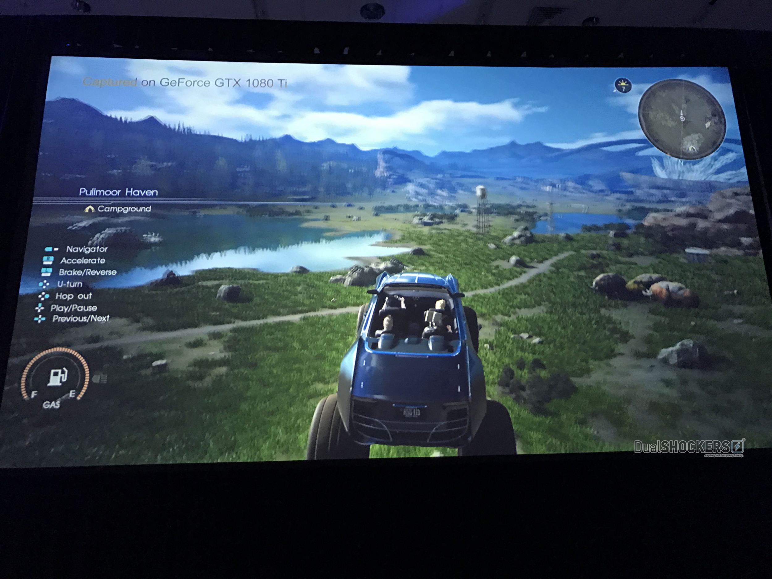 Square Enix showcases Final Fantasy XV running on Nvidia's GTX 1080Ti