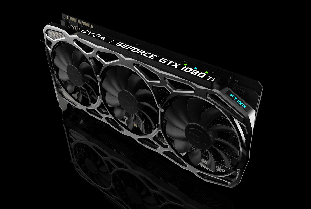 EVGA announce their GTX 1080Ti FTW3