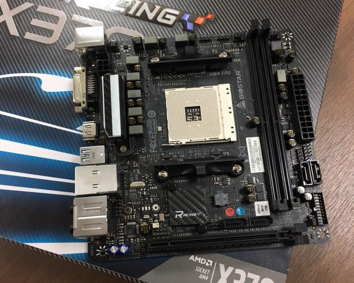 BIOSTAR has revealed their first Mini-ITX AM4 motherboard