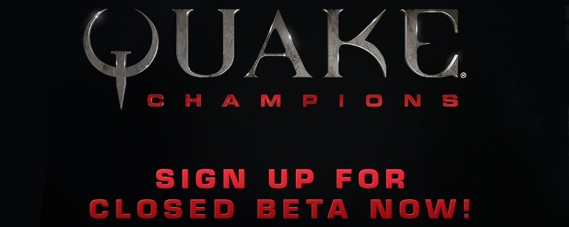 Bethesda announce Quake Champions' Closed Beta