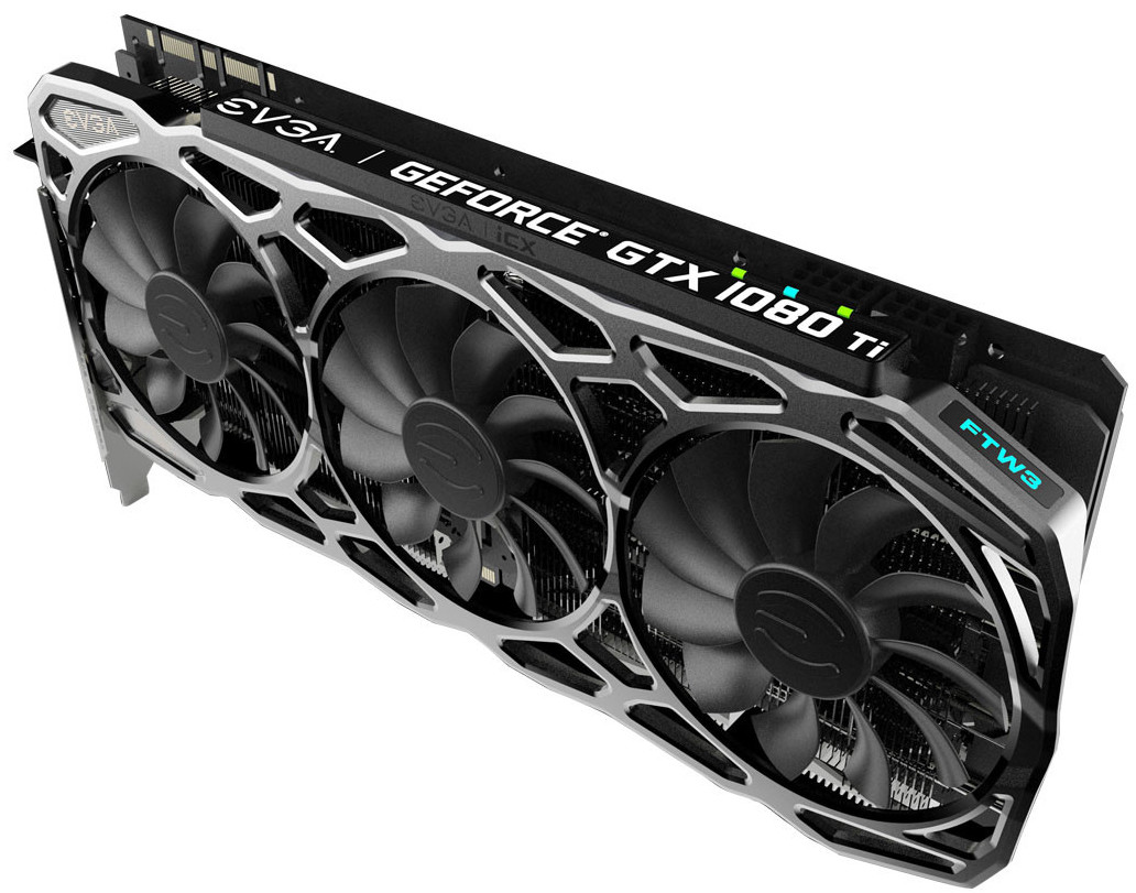 EVGA release the specifications of three aftermarket GTX 1080 Ti models