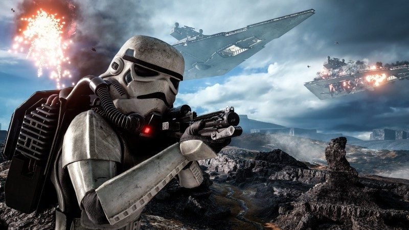 Gamers will get their first look at Star Wars Battlefront 2 on April 15th