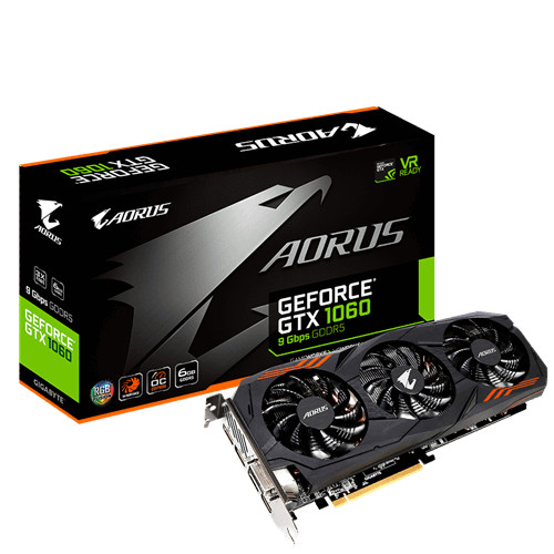 Gigabyte announce enhanced GTX 1080 and 1060 variants
