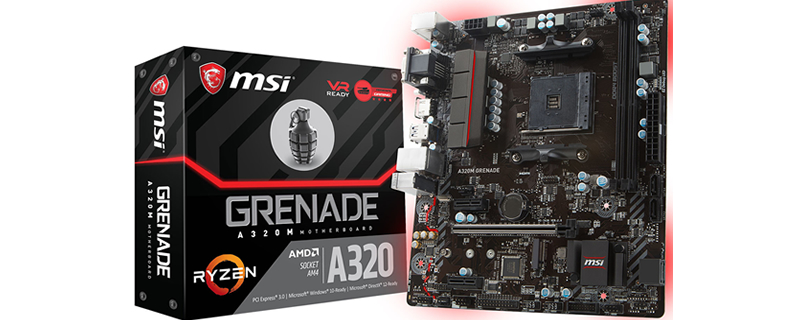 MSI introduce their new A320 Grenade AM4 motherboard