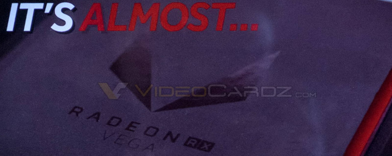 AMD's Redeon Vega teaser video has been leaked