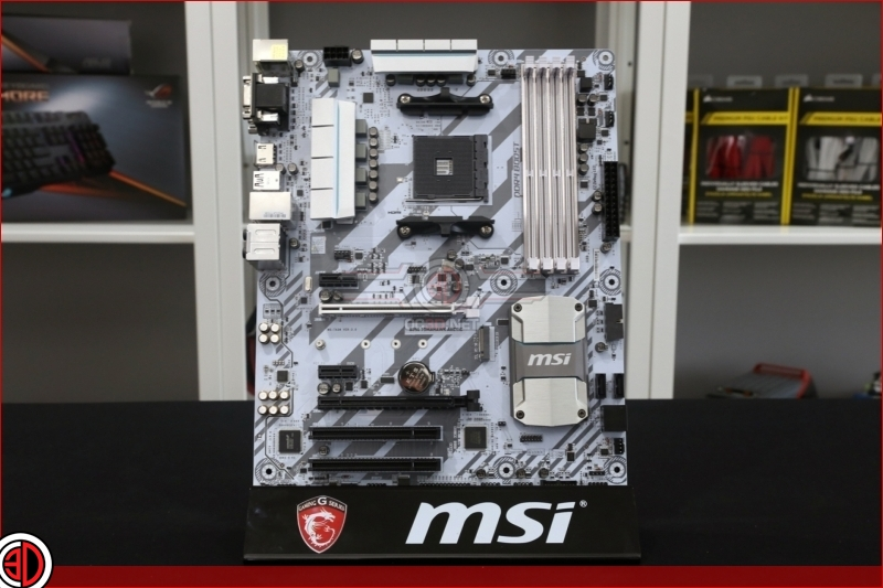 MSI B350 Tomahawk Arctic ATX and mATX Review