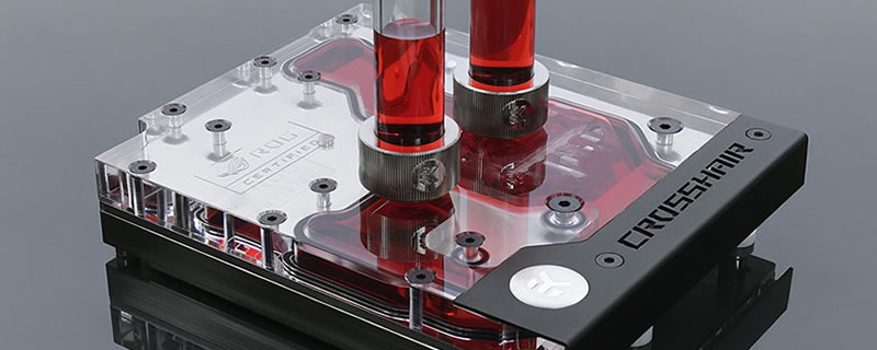 EK launches their first AM4 monoblock for the Crosshair VI Hero