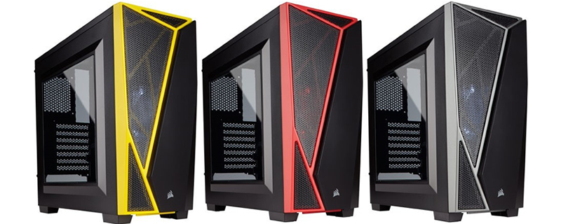 Corsair launches their new Carbide SPEC-04 mid-tower chassis